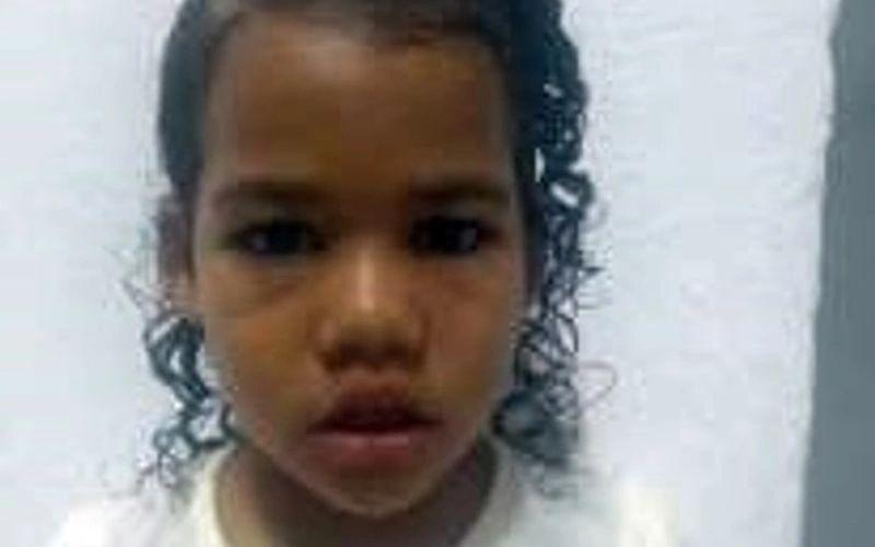 Maria Clara, de 5 anos, está desaparecida desde a última segunda-feira (19)