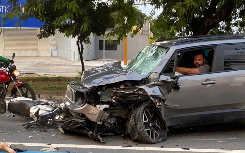 Condutor foi identificado como Sérgio Praxedes