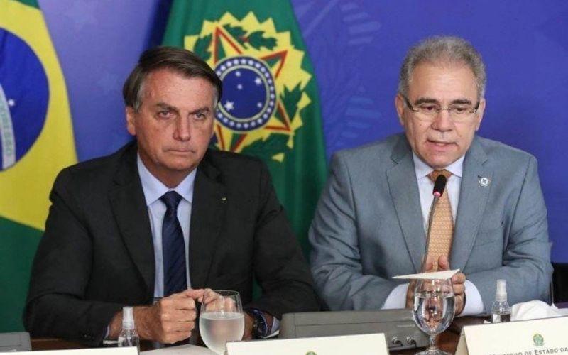 Bolsonaro e Queiroga