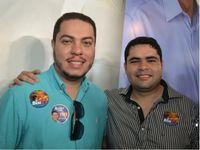 Jacob Brandão e o irmão, o vereador Júlio Brandão