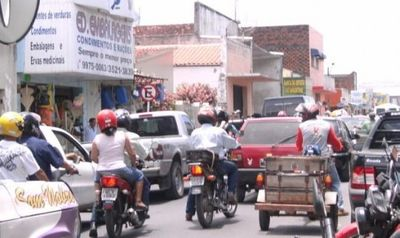 Trânsito congestionado devido o protesto