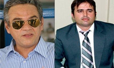 Delegados Maurício Henrique e Rodrigo Cavalcante, responsáveis pela investigação