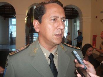 Comandante da Polícia Militar, Luciano Silva
