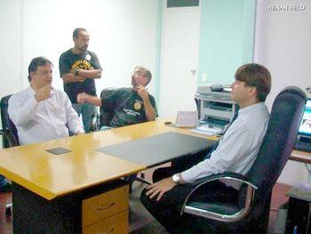 Barenco reunido com sindicalistas