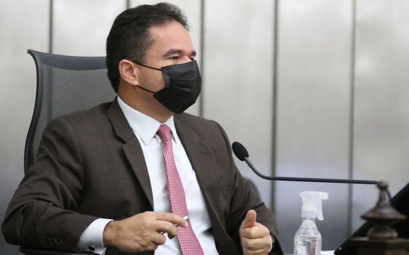 Presidente da ALE, deputado Marcelo Victor