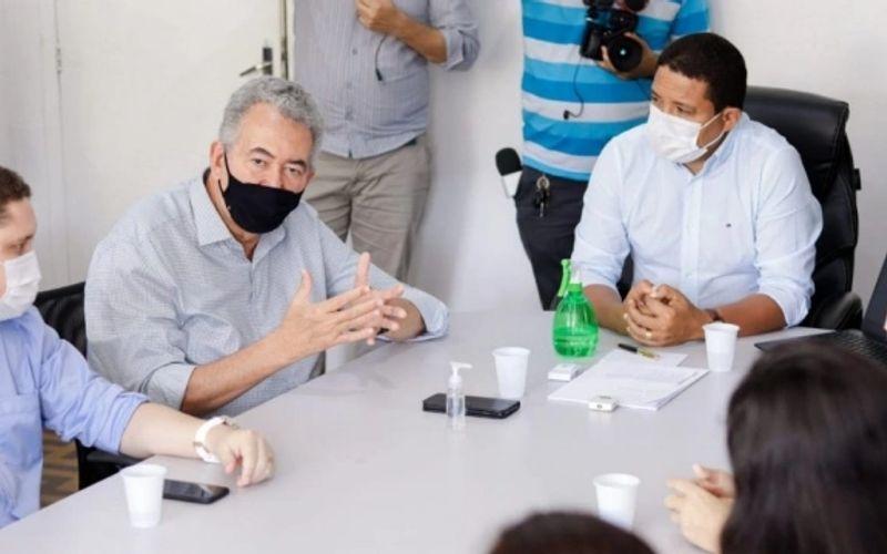 Deputado petista Paulão anuncia verba milionária para a Saúde durante encontro nesta sexta lá em Palmeira com Júlio Cezar