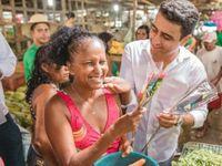 JHC distribui Rosas em Maceió em Homenagem às Mulheres