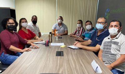 Prefeitura de Feira Grande realizou reunião de planejamento na sede do Conagreste, em Arapiraca.