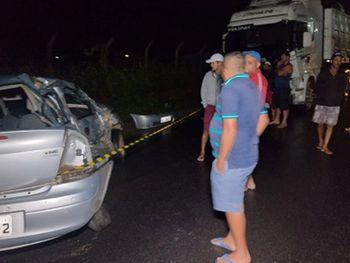 Acidente aconteceu na zona rural de Coité do Nóia