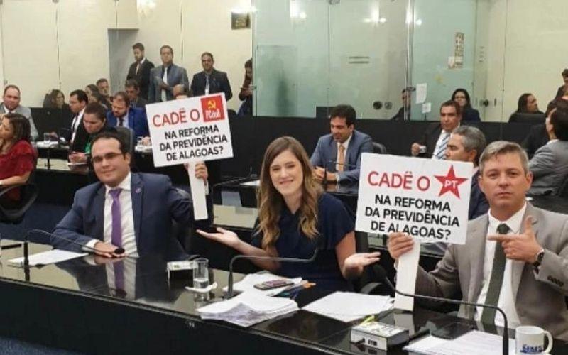 Davi Maia e Cabo Bebeto questionam participação dos partidos
