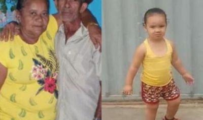 Casal de agricultores e neta foram encontrados mortos
