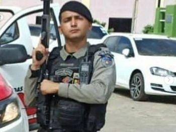 O soldado da PM Charles Micael