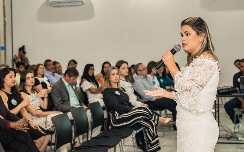 Márcia Acioly recebeu colegas advogados e advogadas