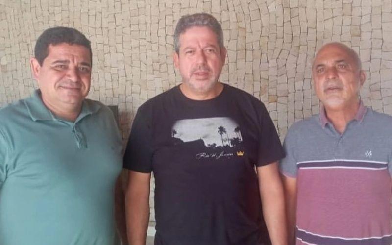 Márcio Lima, Arthur Lira e Nailton