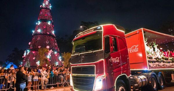 Caravana de caminhões da Coca-Cola volta a Arapiraca nesta terça (12) - Cada Minuto