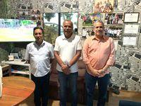 Oliveira, Tarcizo e Cláudio Canuto