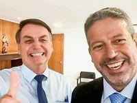 Bolsonaro e Arthur Lira exaltam parceria