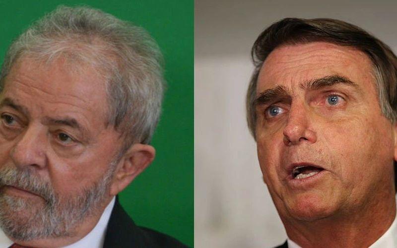 Lula e Bolsonaro lideram intenções de votos, segundo Paraná Pesquisa