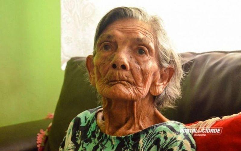 Dona Filó, morreu nesta terça aos 120 anos, era natural de União dos Palmares- Morreu no interior do Paraná
