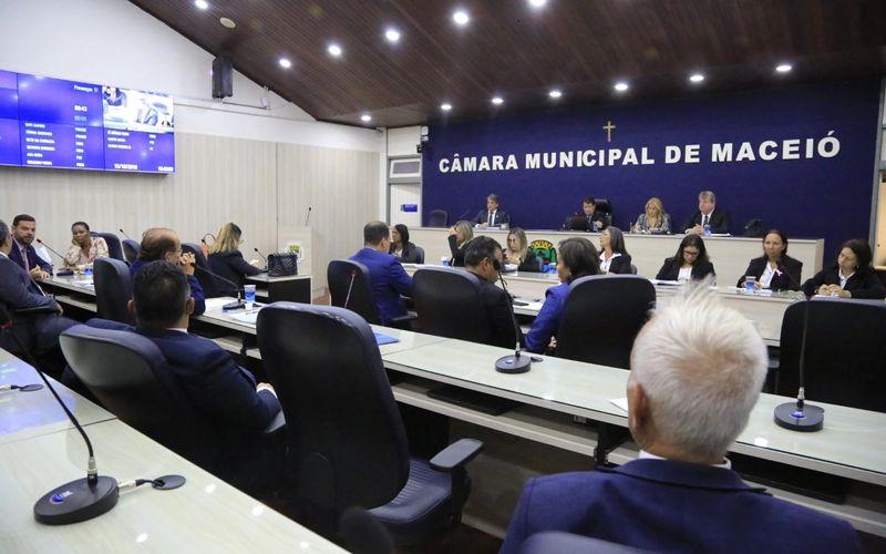 Plenário da Câmara Municipal de Maceió