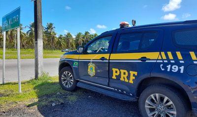 Viatura da Polícia Rodoviária Federal (PRF)