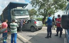 Acidente aconteceu em trecho da BR-316, entre os municípios de Satuba e Pilar