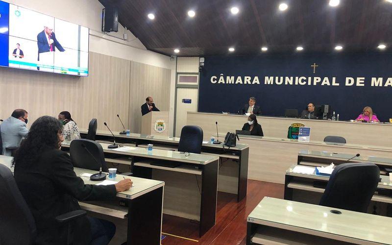 Plenário da Câmara de Maceió