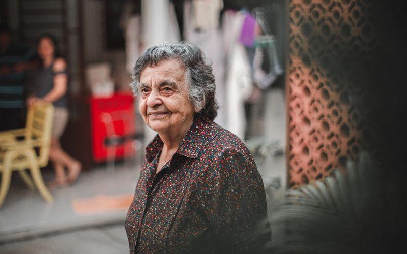 D. Inês continua morando na mesma rua desde que chegou à Arapiraca