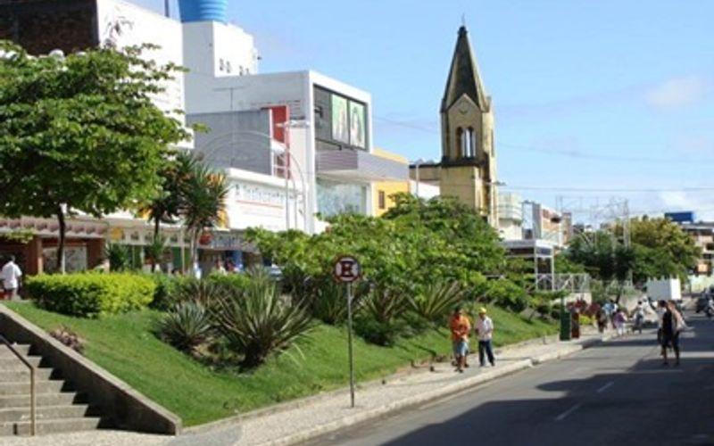Praça Manoel André, no Centro de Arapiraca