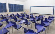 Sala de aula da Escola Estadual Maria Ivone