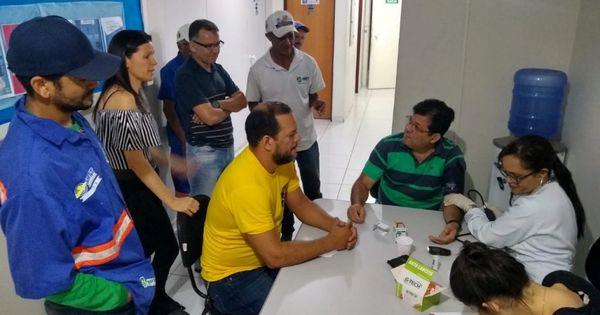 Servidores da SMTT Arapiraca participam da campanha Novembro Azul - - Cada Minuto