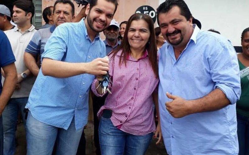 Arlindo Garrote, Ângela Garrote e Aldo Lira