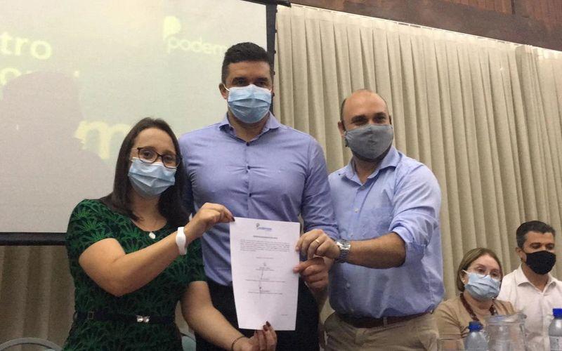 Renata Abreu, Rui Palmeira e Tácio Melo