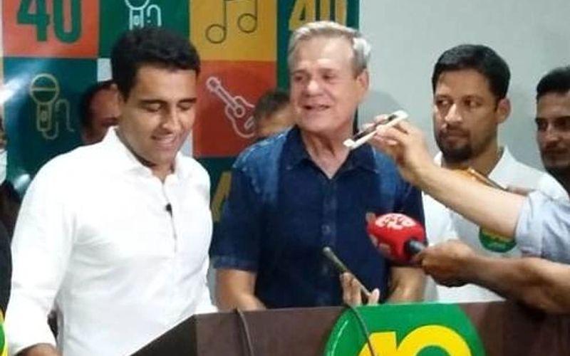 JHC, Ronaldo Lessa e Rodrigo Cunha