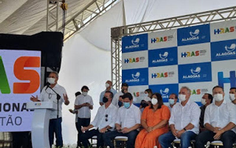 Deputado Estadual Chico Tenório participa da inauguração do Hospital Regional do Alto Sertão