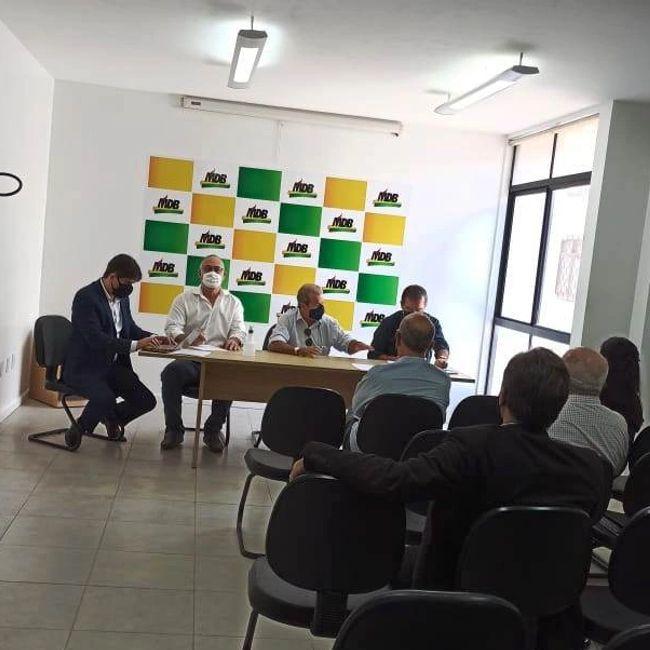 Reunião do Conselho de Ética do MDB