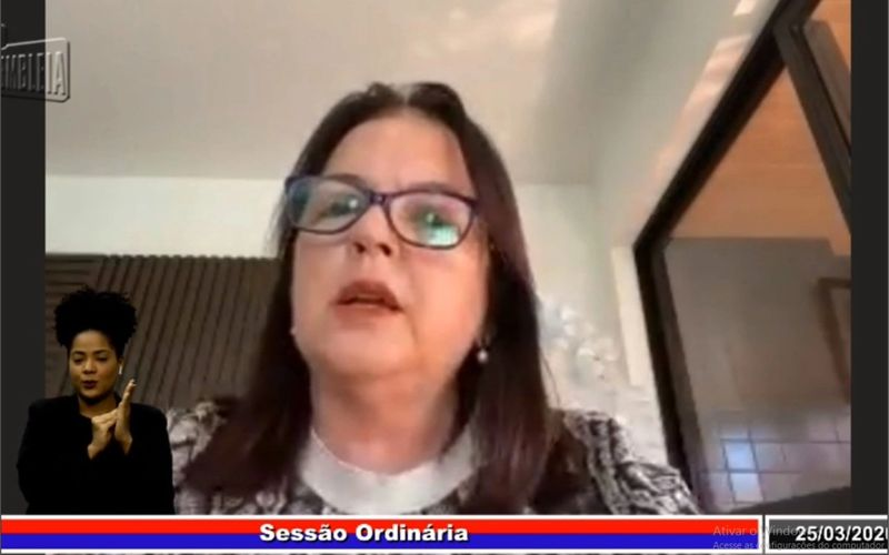 Deputada Fátima Canuto