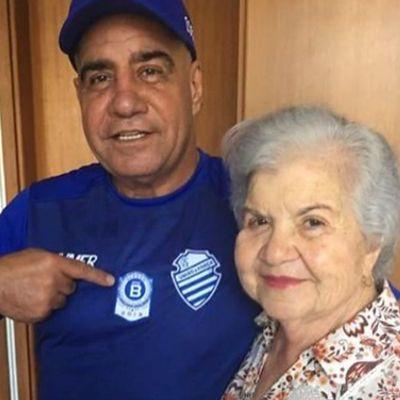 Raimundo Tavares e a mãe Liége Tavares
