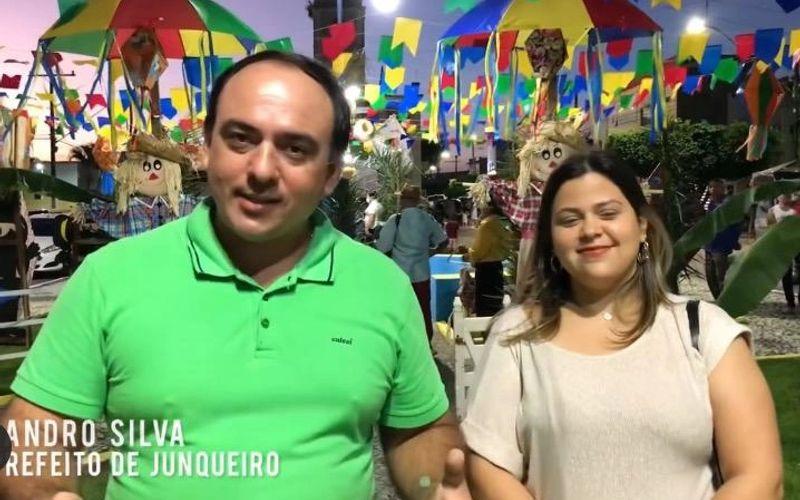 Leandro e Lídia Samira