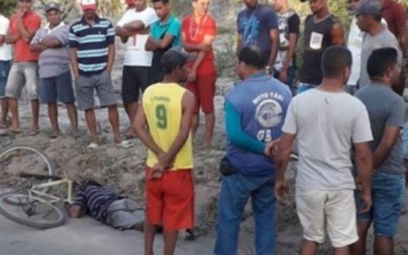 Corpo de ciclista foi encontrado na estrada vicinal