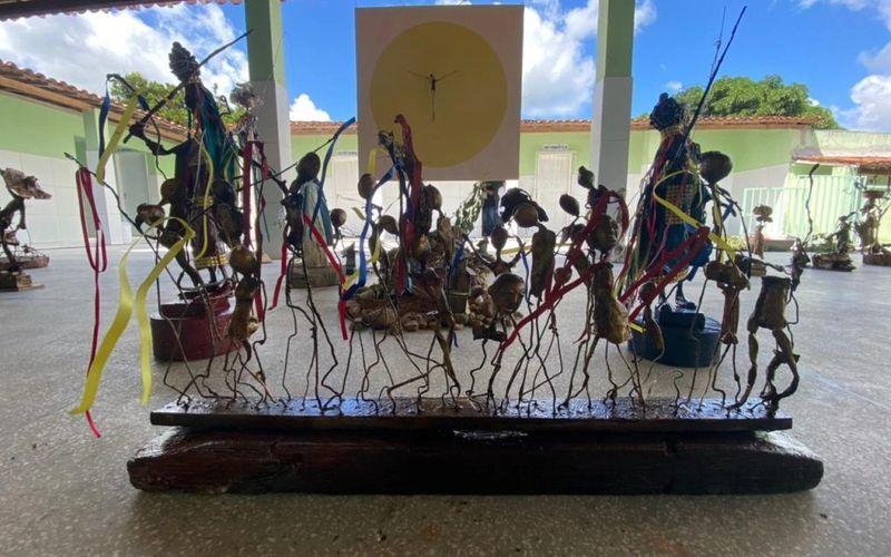 Cotidiano do homem do campo é retratado em exposição do artista Jackson Lima