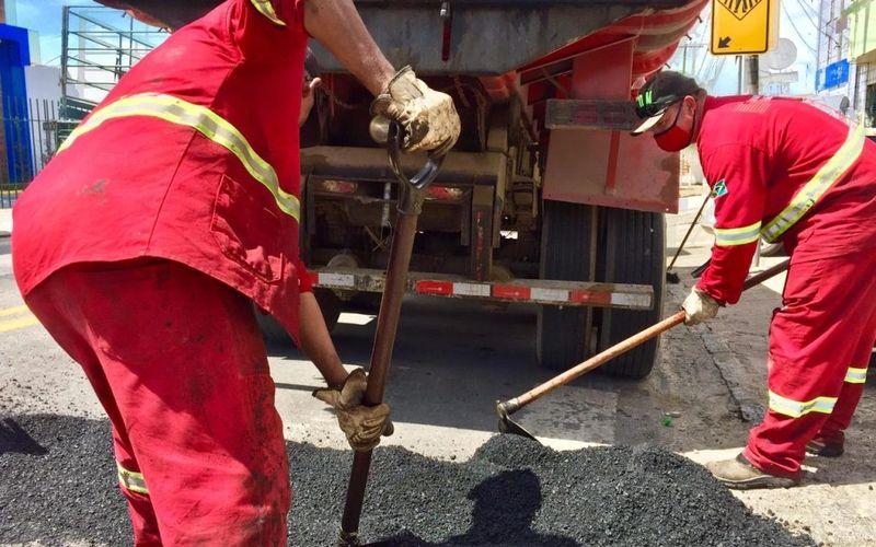 Prefeitura intensifica operação tapa-buraco