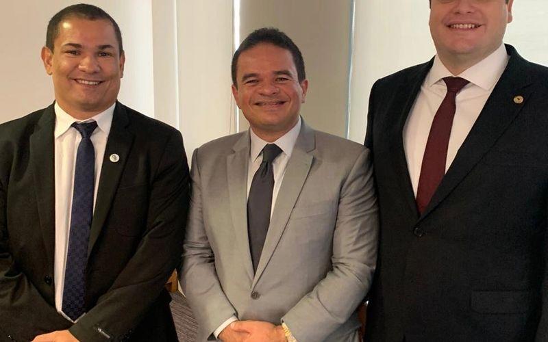 Moreno, Marcelo Vitor e Davino