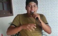 Lizandro Dantas Melo da Silva, de 18 anos, morreu dois dias depois que foi baleado na cabeça por uma bala perdida.