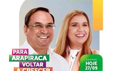 Luciano Barbosa e Rute Nezinho