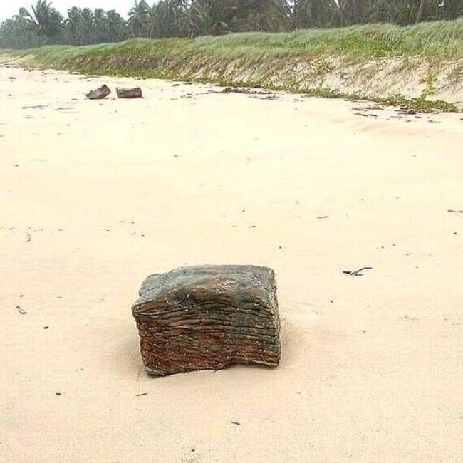 Fardos foram localizados em agosto deste ano no litoral da Bahia e de Alagoas; material estava em embarcação da Segunda Guerra Mundial