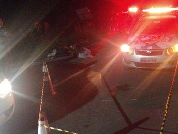 Acidente deixa duas pessoas mortas em Japaratinga, vítimas estavam sem capacete