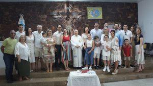 Batismo de Bruno, Caio e Henrique