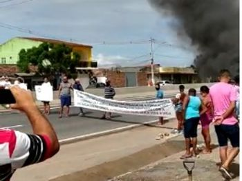 Protesto Campo Alegre