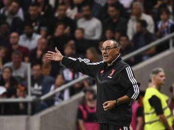 Maurizio Sarri estava na Juventus